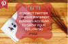 HOW TO CONNECT YOUR TWITTER ACCOUNT TO YOUR PINTEREST ACCOUNT