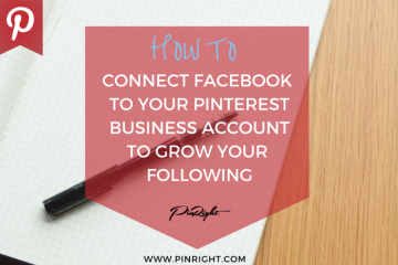 How To Connect Your Facebook Account To Your Pinterest Account
