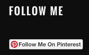 follow me on pinterest button wordpress widget