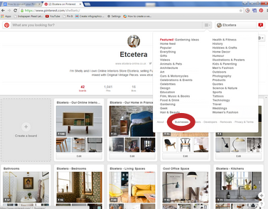 how to convert your pinterest account image 1