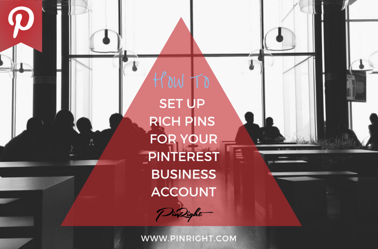 How to enable rich pins on pinterest