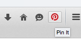 pin it button on firefox