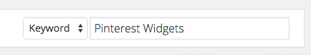 pinterest widgets search plugins wordpress