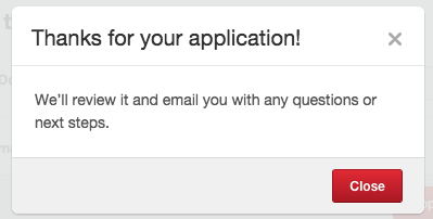 richpin application approval