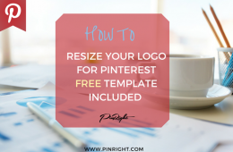How To Resize Your Logo For Pinterest FREE Template Download Included