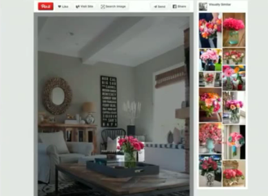 Highlight an image in Pinterest to Discovery Products | Pinright