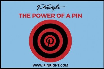 The Power of a Pin. How just one pin can get you in front of thousands of people, bring you exposure and drive traffic to your website | Pinright.com