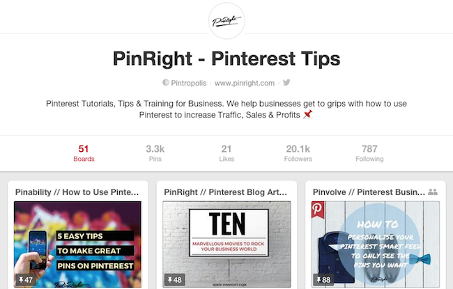 Pinright Pinterest Business Account after 3 Months copy