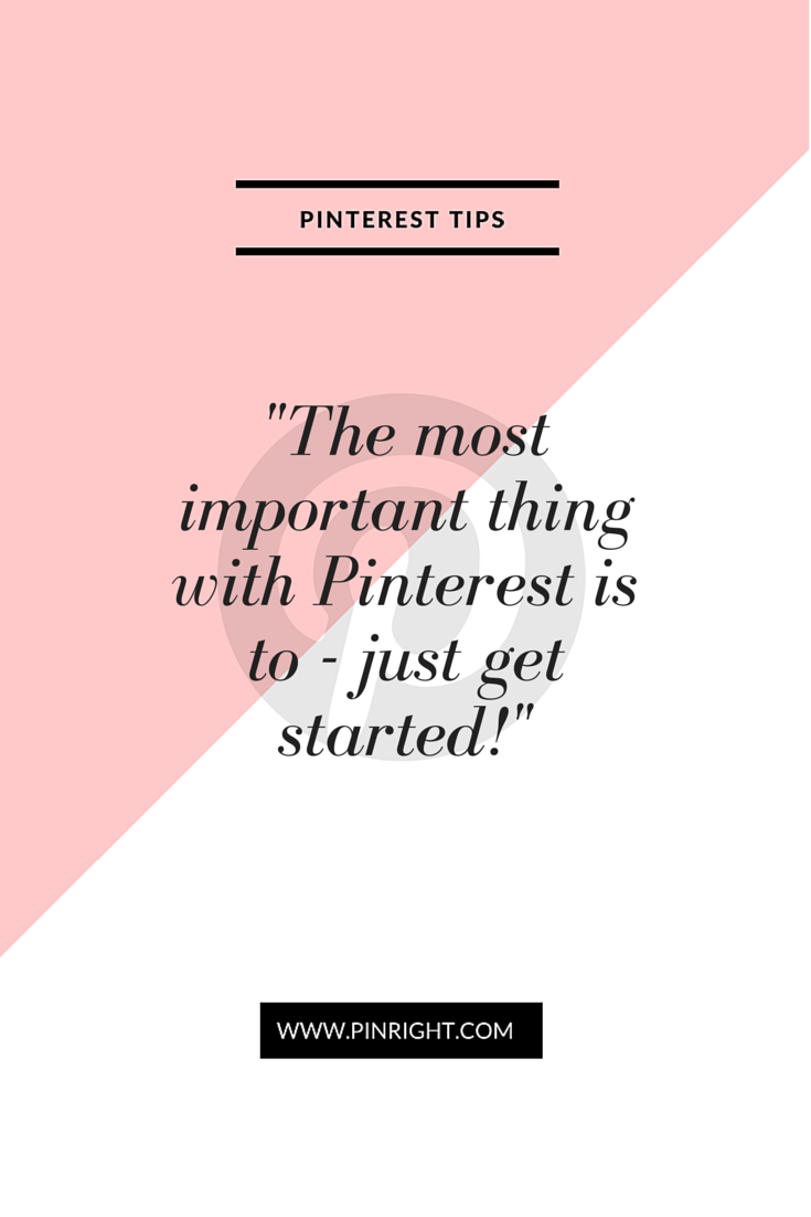 How often is the getting started with something the problem. Pinterest can provide huge benefits for your business but even the thought of just getting started on a new platform can be overwhelming. Don't waste time making the mistakes we did, do it the easy way. Let us show you how to do all of it the easy way.