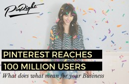 Pinterest have reach 100 million regular monthly users. Let us explain why that is good for you business and how you can use it to your advantage. Pinterest for Business Tip   pinright.com