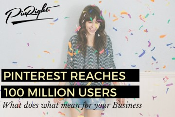 Pinterest have reach 100 million regular monthly users. Let us explain why that is good for you business and how you can use it to your advantage. Pinterest for Business Tip | pinright.com
