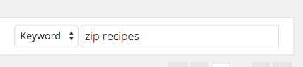 Search for Zip Recipes in the plugin search field