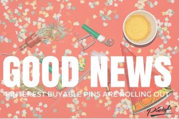Pinterest announced today that they are expanding their Buyable Pins programme to include 3 more e-commerce platforms making buyable pins way more accessible. Click here to find out what those platforms are and how buyable pins can boost your business | pinright.com