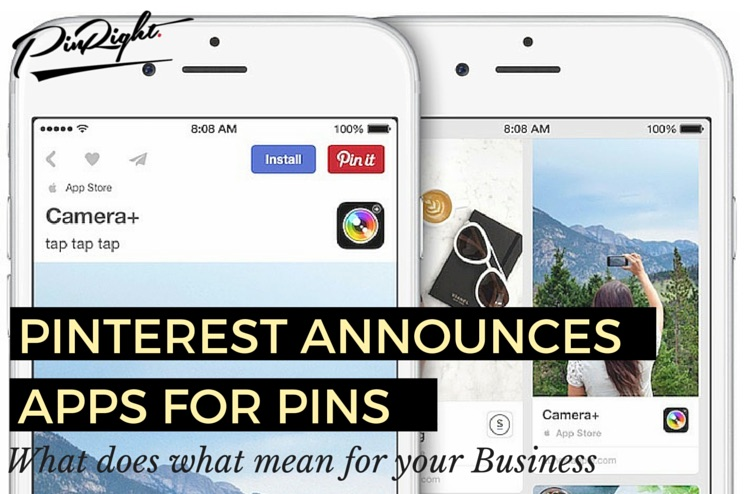 Pinterest have announced Pinterest Apps - Find out how you can Boost Your Traffic from Pinterest by More than 30% With Your Very Own App | pinright.com