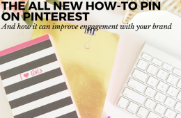"THE NEW ""HOW-TO"" RICH PIN THAT'LL RADICALLY IMPROVE YOUR CREATIVE PINS AND ENGAGEMENT WITH YOUR BRAND"