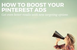 Pinterest ads are powerful but with these new re-targeting options get even more for your money.