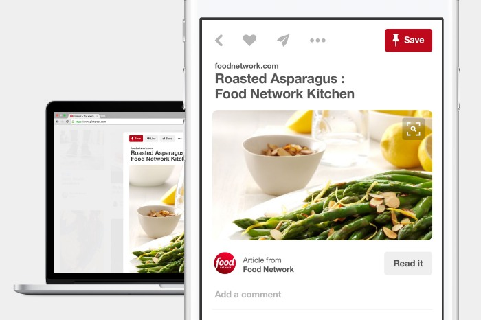 Pinterest changes pin it wording to save to have more general appeal across the web