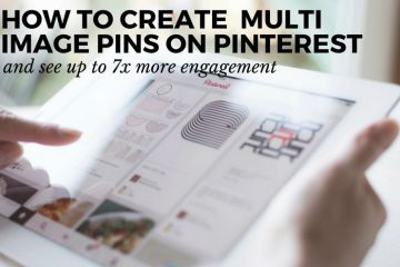Creating pins on Pinterest doesn't have to be complex or difficult. With the tips below you can create amazing looking pins really easily!