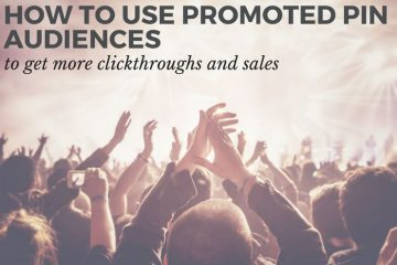 """How to create an Promoted Pins audience from your website and how creating """"look alike"""" audiences from this will increase your chances of getting those all important clicks."""""""