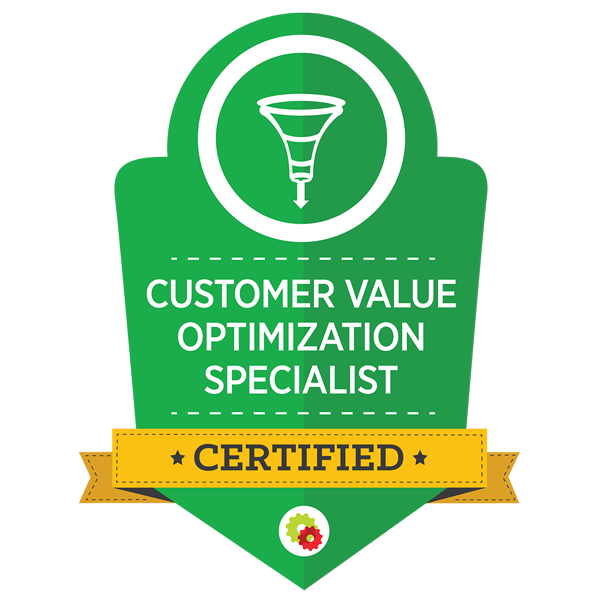 PinRight are qualified Customer Value Optimisation Specialists with Digital Marketer